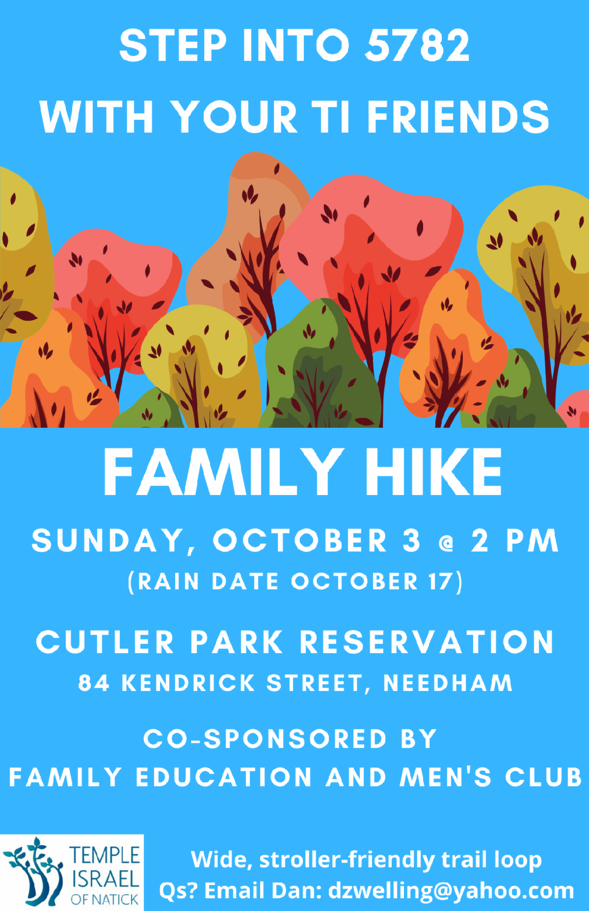 Flyer Describing the Family Hiking Event